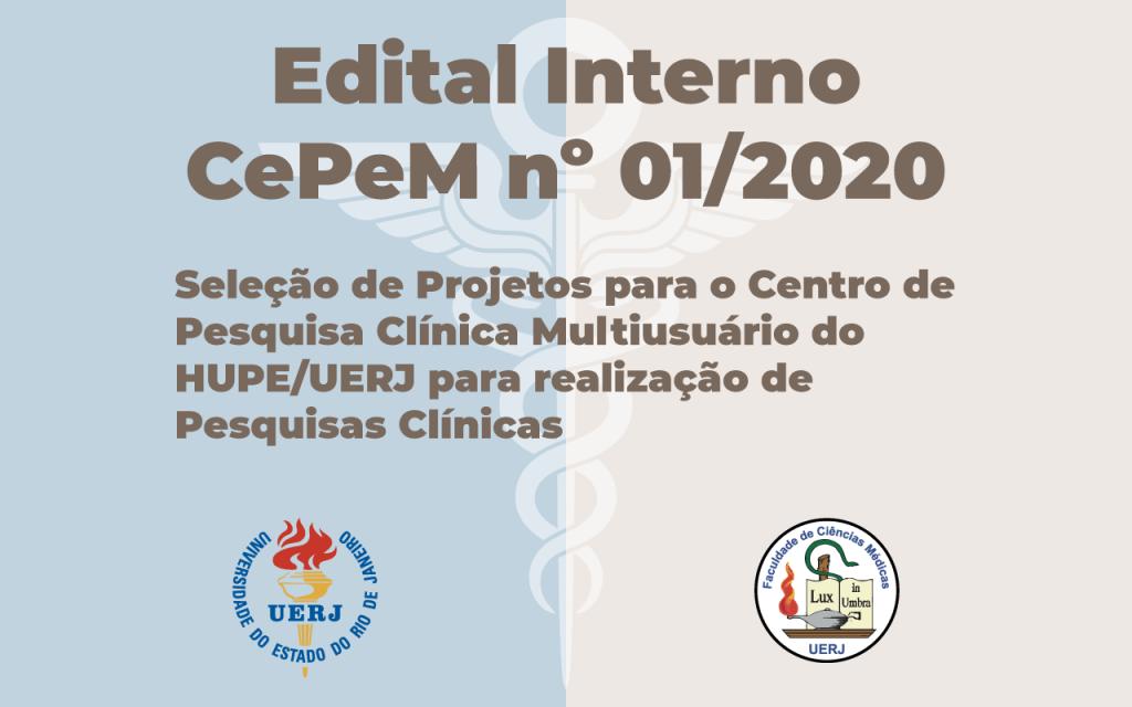 Edital InternoCePeM nº 01/2020